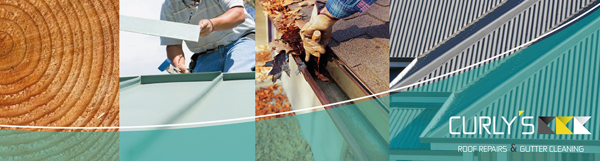 Curlys roof repairs and gutter cleaning banner
